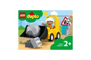Конструктор для детей от 2лет №10930 Bulldozer Duplo Lego 1шт