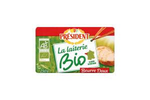 Масло President органічне 82% 250г Франція х10