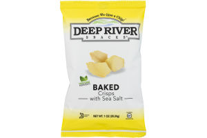Deep River Snacks Baked Crisps with Sea Salt