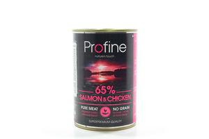 Корм Profine для собак курка, картопля та лосось ж/б 400г