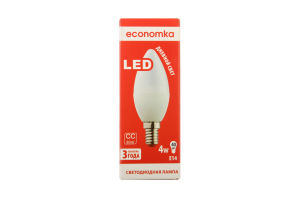 Лампа светодиодная Economka LED CN 4W E14 4200K 1шт