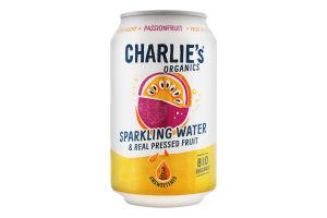 Вода минеральная Charlie's с соком маракуйи ж/б