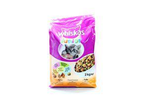 Корм с курицей для беременных и кормящих кошек Wiskas 2кг