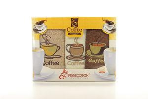 Салфетка Coffee 30*50 3пр. Freecotton