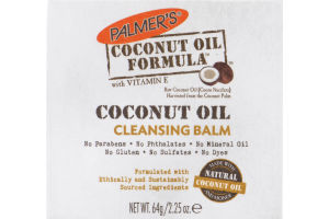 Palmer's Coconut Oil Formula with Vitamin E Cleansing Balm