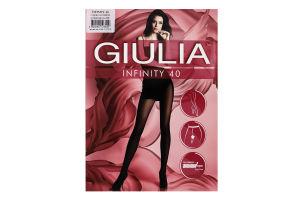 Колготки жіночі Giulia Infinity 40den 2-S daino