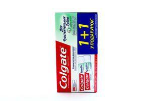 Зубна паста Colgate Sensitive захист емалі 2*75мл