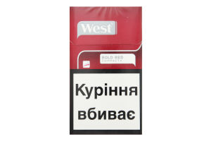 Сигарети West Bold Red Compact+