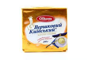 Маргарин 72,5% Сливочный Киевский Олком 200г