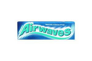 Резинка жевательная без сахара с ароматом ментола и эвкалипта Airwaves м/у 14г