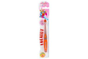 Зубная щетка с резиновой головкой для детей до 4-х лет Lacalut 1шт