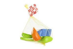 Н-р Numo Toys лопатка мал+грабли+паски 2шт в ассор