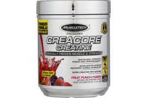 MuscleTech ProSeries Creacore Creatine Fruit Punch Fusion