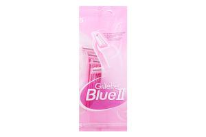 Станок для бритья женский одноразовый Blue II Gillette 5шт