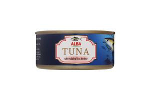 Тунець салатний у власному соку Alba Food ж/б 150г