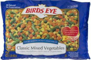 Birds Eye Classic MIxed Vegetables