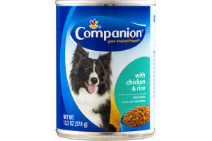 Companion Dog Food with Chicken & Rice