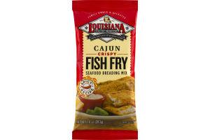Louisiana Fish Fry Products Seafood Breading Mix Cajun Crispy Fish Fry
