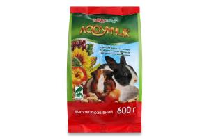 Корм для морських свинок і кроликів Ласунчик Hobby Meal 600г