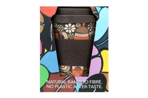 Чашка Ecoffee Cup бамбуковая 340мл в асcортим D-01