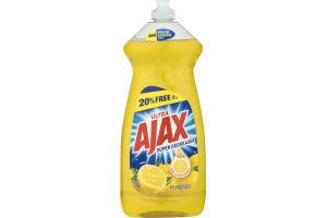 Ultra Ajax Super Degreaser Dish Liquid Lemon