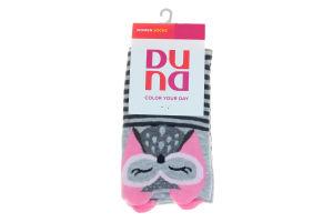 Шкарпетки жіночі Duna №3003 21-23 світло-сірі
