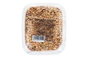 Чечевица ядра бобов зеленые сушеные Натуральні продукти п/у 250г