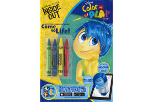 Disney Color and Play with Stickers Inside Out