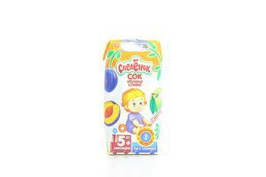 Сок для детей от 5мес Яблоко-слива Спелёнок т/п 0.2л