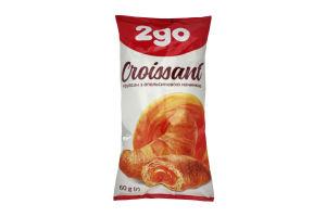 Круассан с апельсиновой начинкой 2go м/у 60г