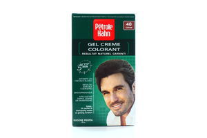 Фарба для волосся Petrole hahn для чоловіків 40