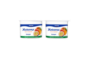 Йогурт 1.5% Персик-маракуйя Живинка ст 4х115г