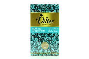 Чай черный с мятой Vilter к/у 25х2г
