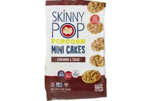 SkinnyPop Popcorn Mini Cakes Cinnamon & Sugar