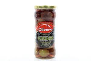 Оливки Ассорти с косточками бочковые Olivero 350г
