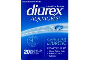 Diurex Aquagels Diuretic - 20 CT