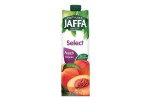 Нектар персиковий з м`якоттю пастеризований Select Jaffa т/п 0.95л