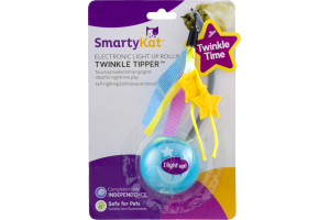 SmartyKat Twinkle Tipper Electronic Light Up Rolling Toy