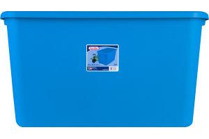 Sterilite Tote 20 Gal. Blue Aquarium