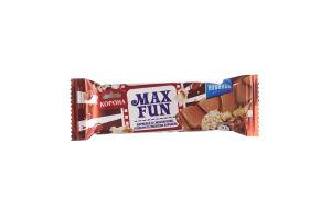 Шоколад Корона Max Fun мармелад,попкорн та карамель 38г