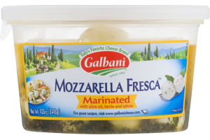 Galbani Mozzarella Fresca Marinated with Olive Oil, Herbs and Spices