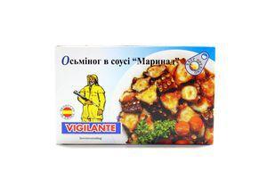 """Осьминог в соусе """"Маринад"""" овал/уп 115 гр."""