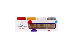 Набор емкостей для специй и сыпучих продуктов 200мл №4200 Sweet EverGlass 1шт