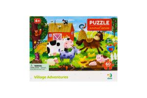 Пазл для детей от 4лет 32х23см №300377 Village Adventures Animal series Dodo 60эл