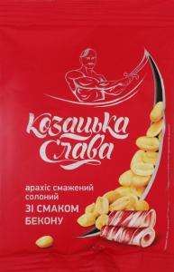 Арахіс смаж. сол. зі смаком бекону 180 гр.