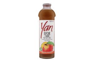 Сок персиковый Yan с/бут 0.93л