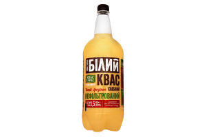 Напиток брожения нефильтрованный сильногазированный Белый квас Квас Тарас п/бут 1.5л