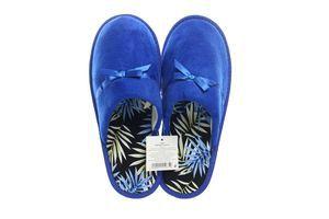 Тапочки комнатные женские SKY №124035 40-41 синие