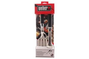 Н-р Weber нержавеющая сталь 2пр 6645