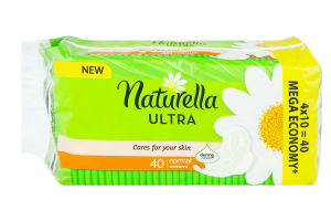 Прокладки Camomile Ultra normal Naturella 40шт
